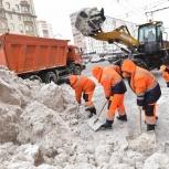 Уборка вывоз снега, Новосибирск