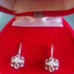 Серьги с бриллиантами, Новосибирск