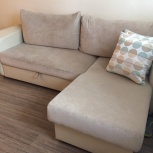 Продам диван-кровать.  1 год в эксплуатации, Новосибирск