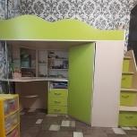 Кровать-чердак ПИОНЕР, Новосибирск