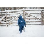 Комбинезон зимний слитный на мальчика, Новосибирск
