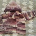 Продам детскую вязанию кофту, Новосибирск