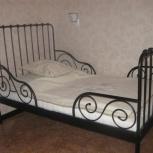 Продам детскую раздвижную кровать (с матрасом), Новосибирск