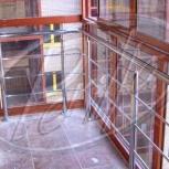 ограждения лестниц, балконов, пандусов, Новосибирск