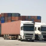 Услуги контейнеровоза, перевозка контейнеров. Аренда контейнеровоза, Новосибирск