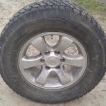 Продам колеса 275/65R17 на литье, Новосибирск