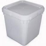 Куботейнер 23 литра с крышкой из пищевого пластика, Новосибирск