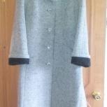 Продам пальто дем. серого цвета синар р.54, Новосибирск