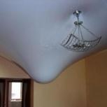 Ремонт натяжных потолков.Слив воды,устранение порезов, Новосибирск