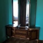 Трельяж (туалетный столик), массив дерева, винтаж, Новосибирск