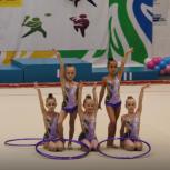 Продам купальники групповые для худ. гимнастики  и обручи в подарок, Новосибирск