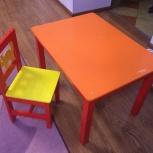 Детский стол и стульчик, Новосибирск
