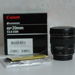 Объектив Canon 20 mm F2.8 mm, Новосибирск