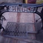 Продам станину чугун1909 г от швейной машинки зингер., Новосибирск