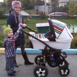 Продается коляска трансформер 2 в 1 (зима-лето), Новосибирск
