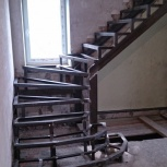 Лестницы. Лестницы из металла. Лестницы на металл-каркасе, Новосибирск