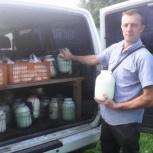 Молоко коровье, Новосибирск