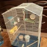 Продам клетку для попугаев, Новосибирск