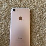 Продам iPhone 7, розовое золото, Новосибирск