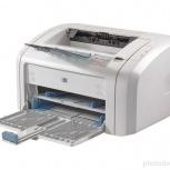 Продам  лазерный принтер  НР 1018, Новосибирск
