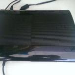 Продам приставку Sony Playstation PS3 superslim 500GB, Новосибирск
