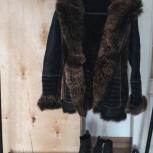 Продам кожаную меховую двухстороннюю куртку, Новосибирск