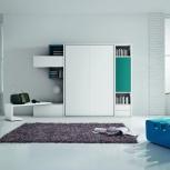 Корпусная мебель на заказ, шкаф кровать на заказ, Новосибирск