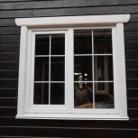 Окна в деревянном доме, Новосибирск