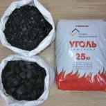 Уголь в мешках каменный калиброванный отборный орех со скидкой, Новосибирск