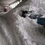 Уборка снега с крыш, Новосибирск