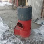 Печь в баню с баком, Новосибирск