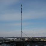 Мачта дюралюминиевая составная на оттяжках, 10 м., Новосибирск