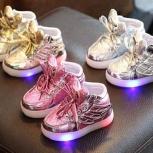 Детские кроссовки с Led подсветкой, Новосибирск