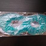 Продам новую гелевую маску для глаз, цвет: синий, Новосибирск