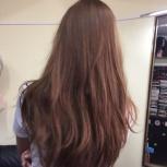 Продам парик из длинных натуральных волос, новый, пр-во Германия, Новосибирск