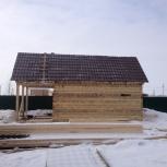 Ремонт кровли, строительство домов, бань из бруса, Новосибирск