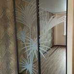 Раздвижные двери из алюминиевого профиля, Новосибирск