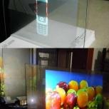 Интерактивная Витрина и плёнка обратной проекции, Новосибирск