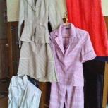 3 костюма и платье (бу) - пакетом в одни руки, Новосибирск