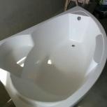 Акриловая левосторонняя ванна Лайза 170*110, Новосибирск