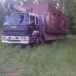Услуги самогруза Isuzu-Giga, Новосибирск