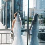 Свадебное платье (русалка) размер с 46 до 50, Новосибирск