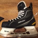 Коньки хоккейные bauer supreme pro + подарок, Новосибирск