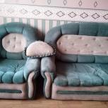 Комплект мягкой мебели б/у, Новосибирск