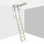 Чердачная лестница стандарт Docke 60х120х280, Новосибирск