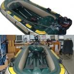 Продаётся лодка надувная новая 2-х местная, Новосибирск