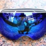 Горнолыжные очки синее зеркало, Новосибирск