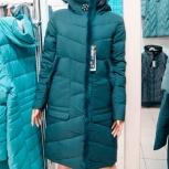 48-60р пальто на тинсулейте отделка натур норка, Новосибирск