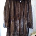 Продам норковую шубу, в подарок норковый берет., Новосибирск