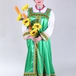 Шикарные Русские национальные костюмы для всех возрастов напрокат, Новосибирск